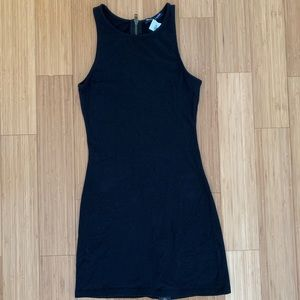 Brandy Melville Zipper bodycon dress with tags!